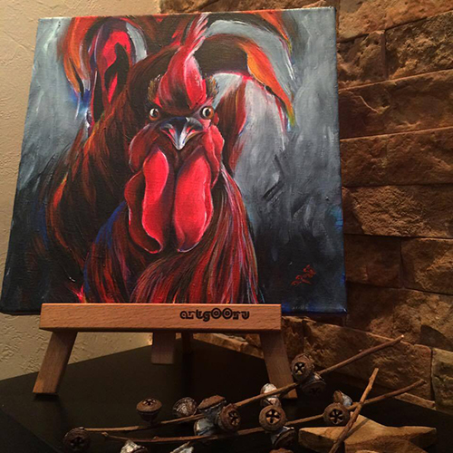 Red Rooster II – Dimitrie Ross