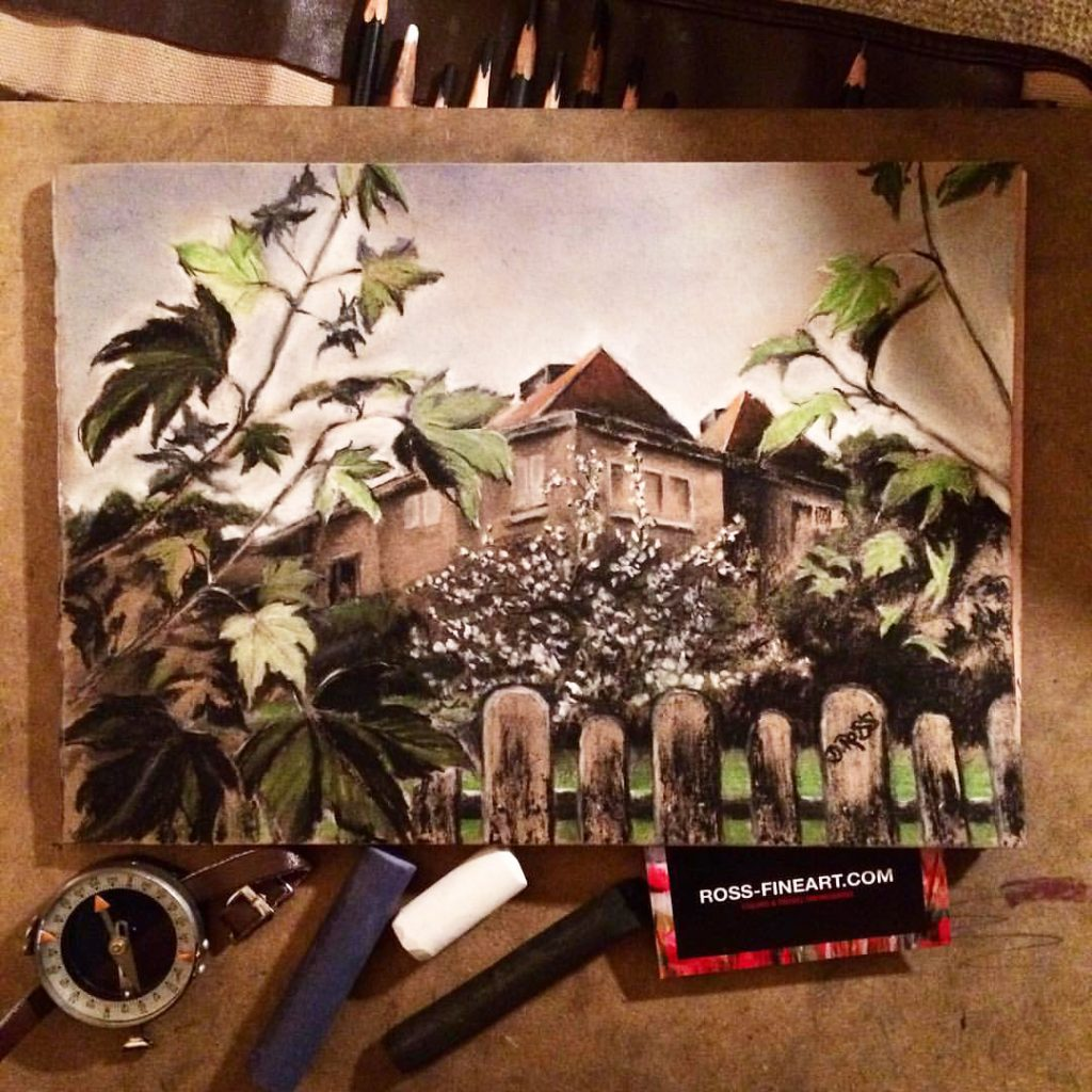 Cherry on Wallenrodt Street. My Baltic Backyard - Dimitrie Ross