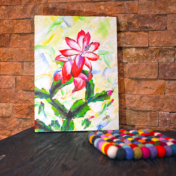 Shlumbergera Christmas cactus - Dimitrie Ross Art